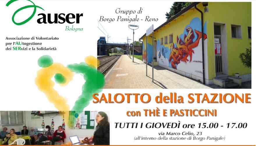 """Auser Borgo Panigale – Reno: ecco i nuovi appuntamenti al """"Salotto della Stazione"""""""
