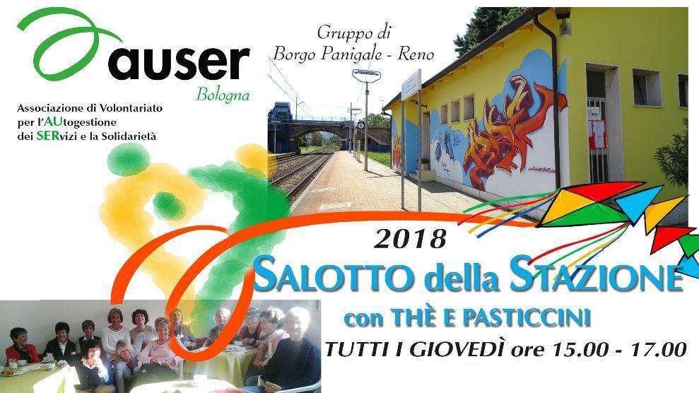 """Il programma di settembre e ottobre del """"Salotto della stazione"""", le conferenze con the e pasticcini di Auser Bologna"""