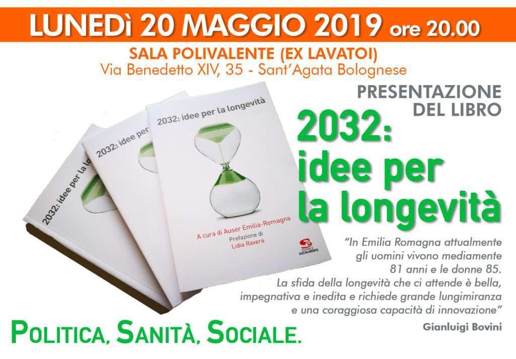 """Anche a Sant'Agata Bolognese la presentazione del libro """"2032: idee per la longevità"""""""