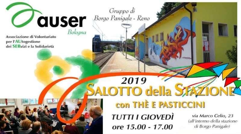 """Gli appuntamenti di maggio e giugno con il """"Salotto della Stazione"""", le conferenze con the e pasticcini di Auser Bologna"""