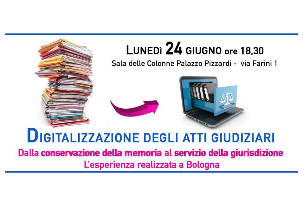 La digitalizzazione degli atti giudiziari e la memoria delle stragi: il 24 giugno si racconta l'esperienza realizzata a Bologna