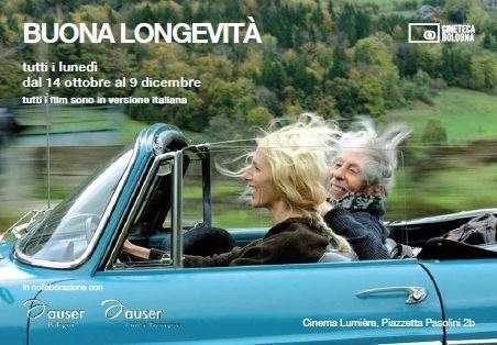 """Torna """"Buona Longevità"""", la rassegna cinematografica per una visione della vecchiaia fuori dagli schemi"""