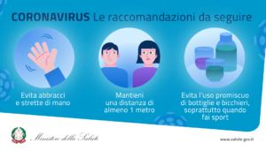 INDICAZIONI E DOCUMENTAZIONI SULLE MISURE ADOTTATE PER CONTENERE IL COVID-19