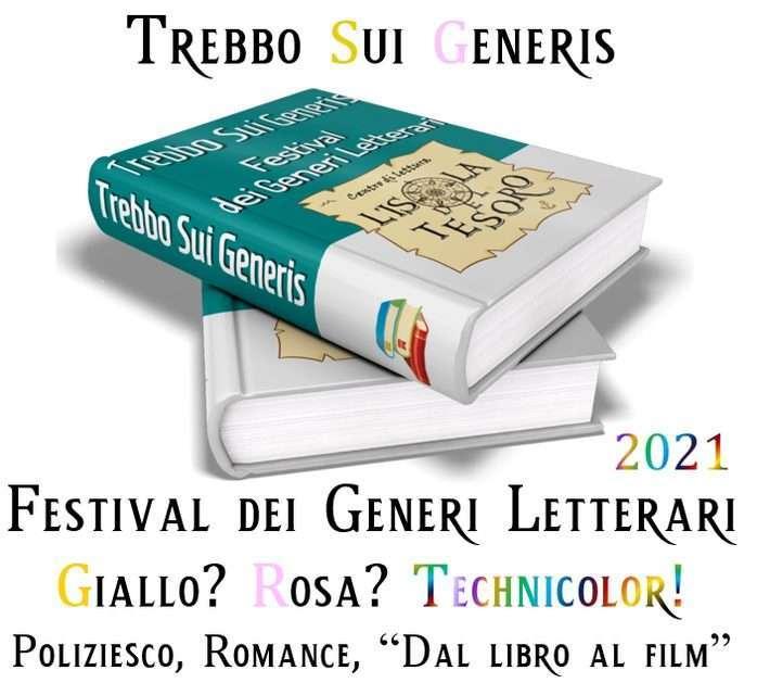 Il 5 e 6 giugno torna Trebbo sui Generis, il Festival dei Generi Letterari del centro di lettura l'Isola del Tesoro